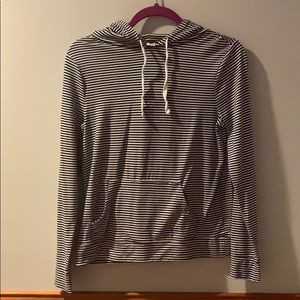 Old Navy striped hoodie